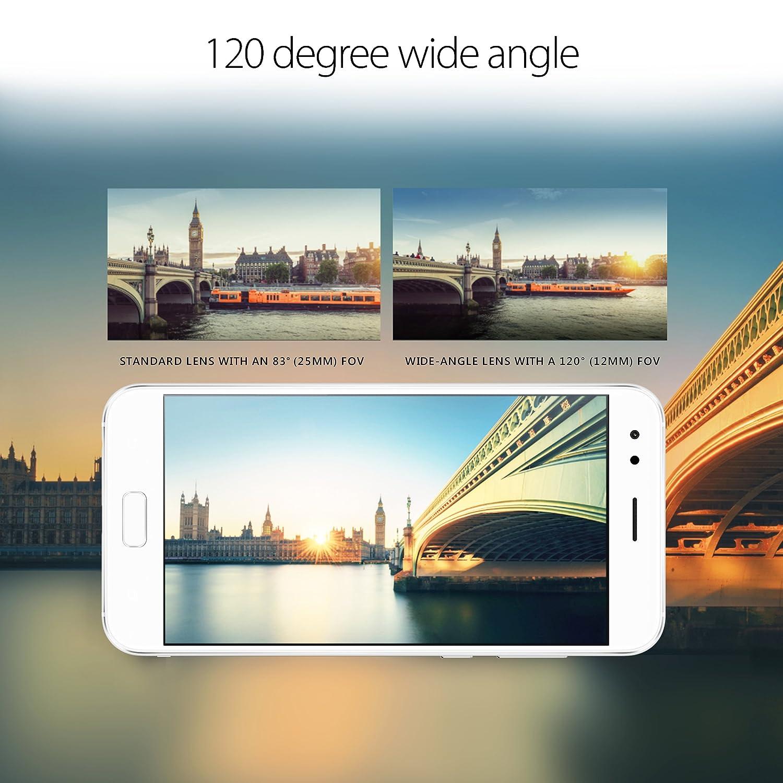 Asus Ze554kl S630 4g64g Wh Zenfone 4 55 Inch Fhd Ips 3 Zoom S Ze553kl Lte 55ampquot 64gb 4gb Ram Storage Unlocked Dual Sim Cell Phone Us Warranty Moonlight White