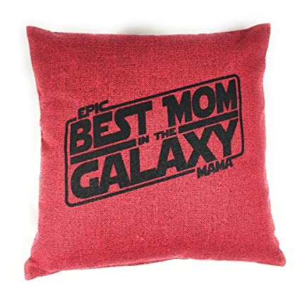 Amazon Best Mom In The Galaxy Throw Pillow COVER Mothers Day Inspiration Button Up Shirt Pillow Covers