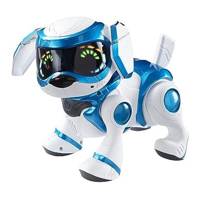Amazoncom Teksta Robotic Puppy Blue By Bit 360 Toys Games