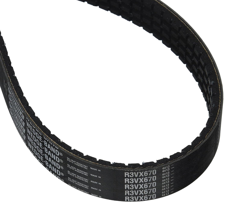 D/&D PowerDrive 10//3VX530 Banded Cogged V Belt