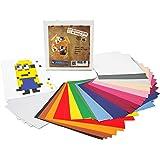 La Manufacture du Pixel - 12 800 gommettes stickers autocollantes - Pixel Art, Loisir Créatif, Mosaïque, Fun ! - Créez à l'infini tout l'art qui vous ressemble