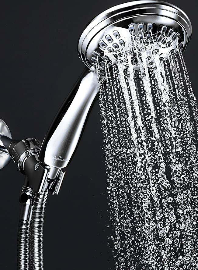 ShowerMaxx Shower Head Premium 6 Spray Settings | Luxury Spa ...