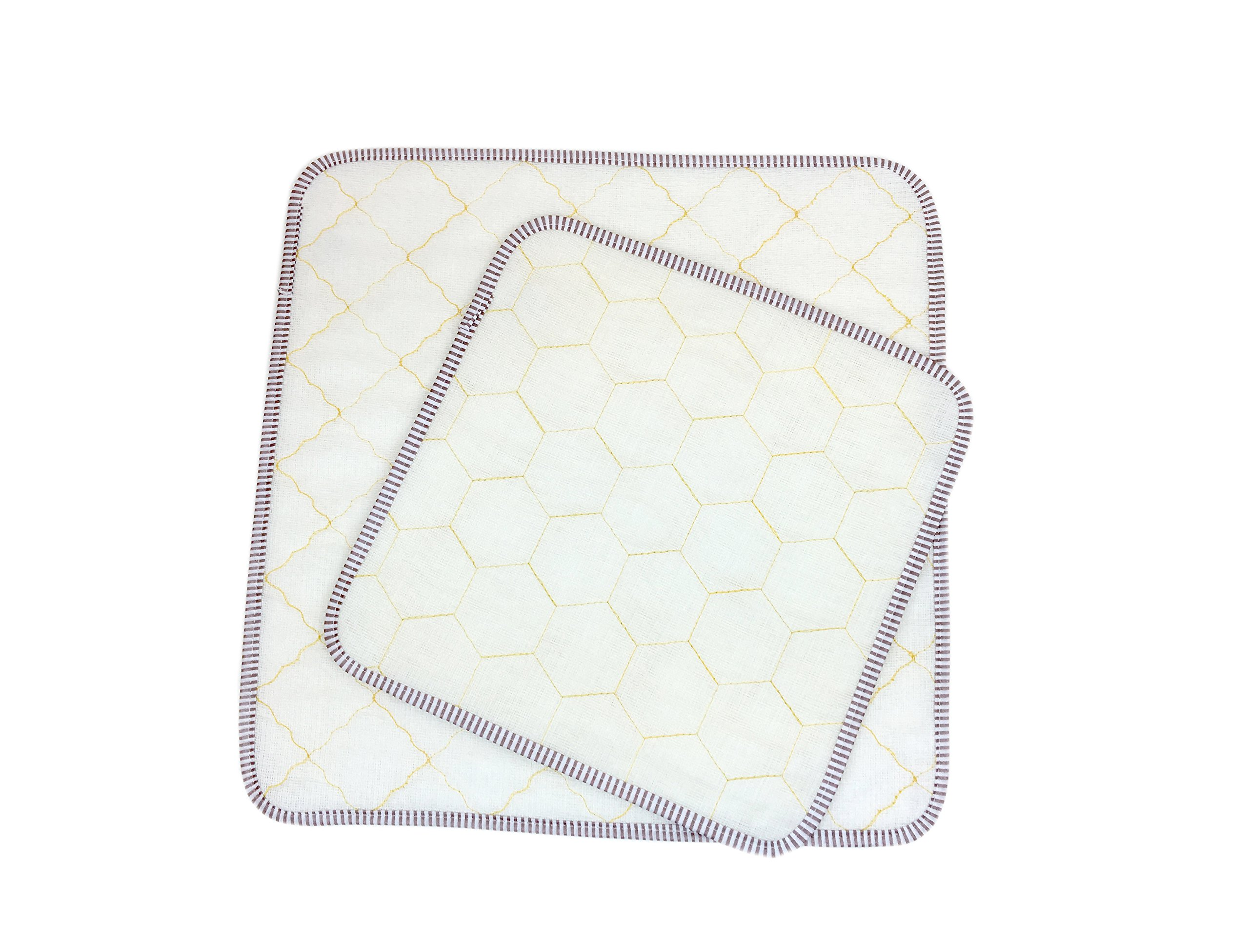 100% Wood Fiber Dish Cloth (100, honeycomb)