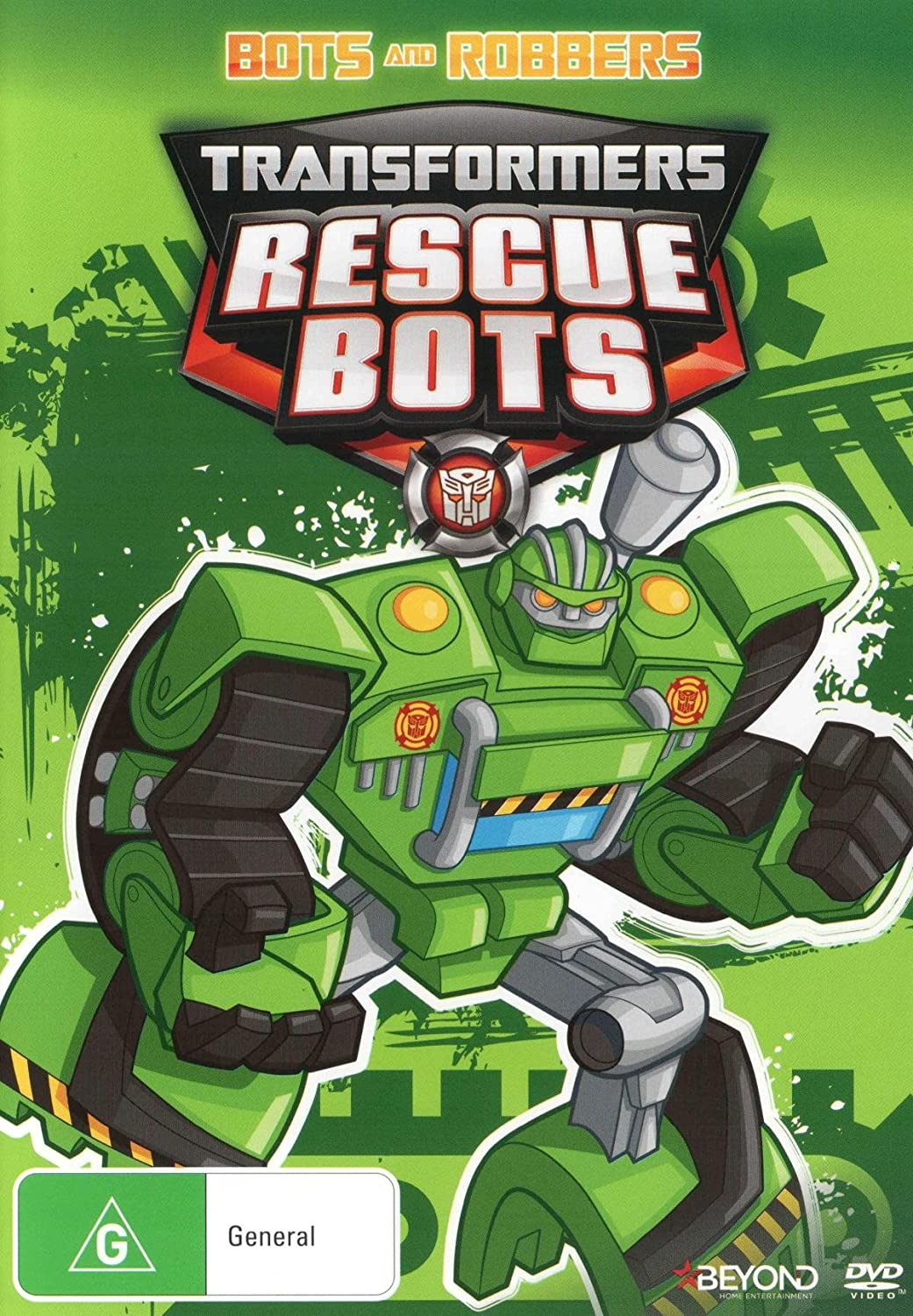 Amazon.com: Transformers Rescue Bots Bots and Robbers DVD ...