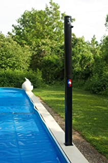 poolnsun poolside outdoor solar pool shower 25l