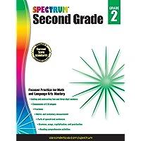 Spectrum | 2nd Grade Workbook | Math, Language Arts, 320pgs