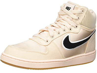 lowest price b0895 06054 Nike Women s WMNS Ebernon Mid Prem Fitness Shoes Multicolour (Guava Ice  Black Gum