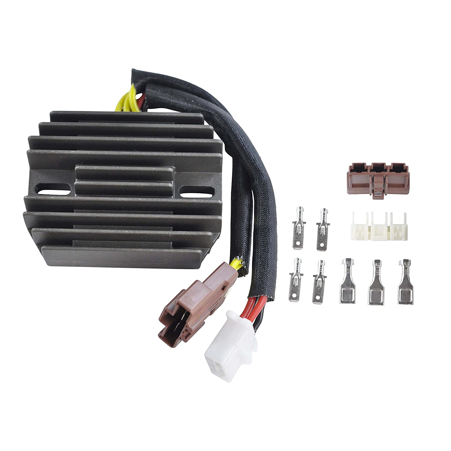 Voltage Regulator Rectifier For Aprilia Etv Caponord Rst Charging System Wiring And Main Power Supply Circuit Ndash 2006 Rs125 Futura Rsv R Mille Tuono 1000 1998 2010 Oem Repl Ap8124831 Ap8127144 Automotive