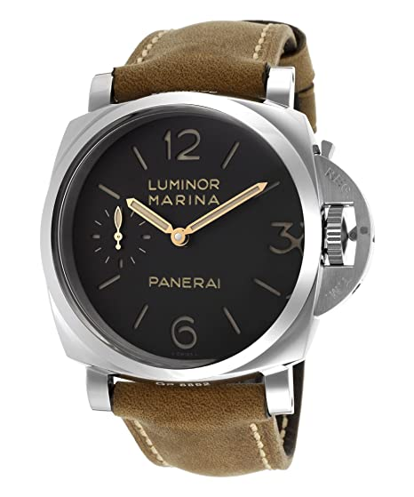 PANERAI LUMINOR MARINA 1950 RELOJ DE HOMBRE MANUAL 47MM PAM00422: Amazon.es: Relojes