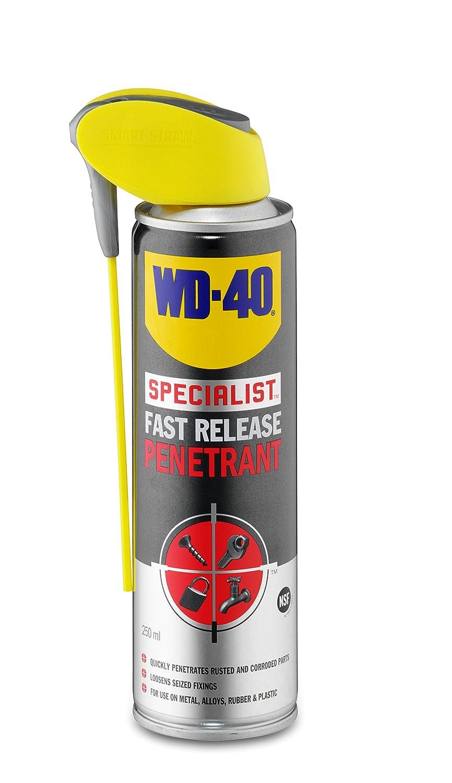 WD40 Fast Release Penetrant 250ml WD40D 44709