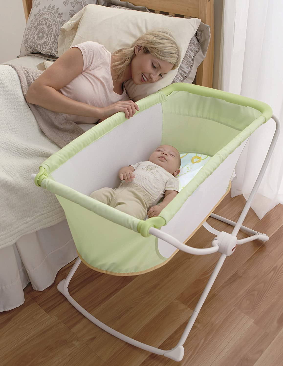 baby gear rock safety n vs play sleeper centre bassinet and