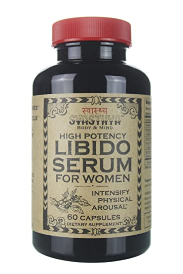 Svasthya High Potency Libido Serum for Women, All Natural Sexual Enhancement, Increase Energy and