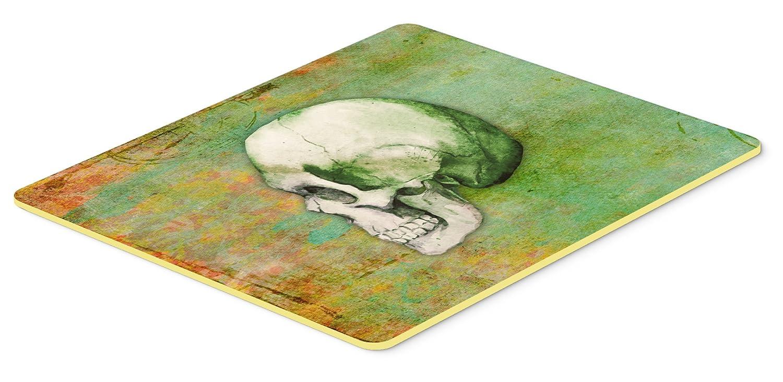 Caroline 's Treasures Day of the Deadグリーンスカルキッチンやバスマット24 x 36、24hx36 W、マルチカラー   B01MSAVS6R