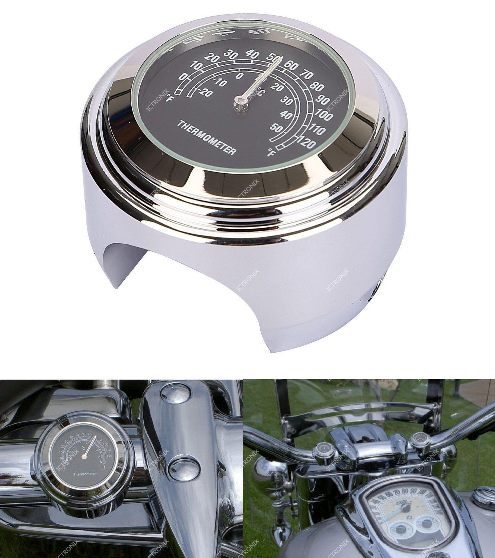 Universal 7//8/1/Thermom/ètre de moto guidon de v/élo Temp