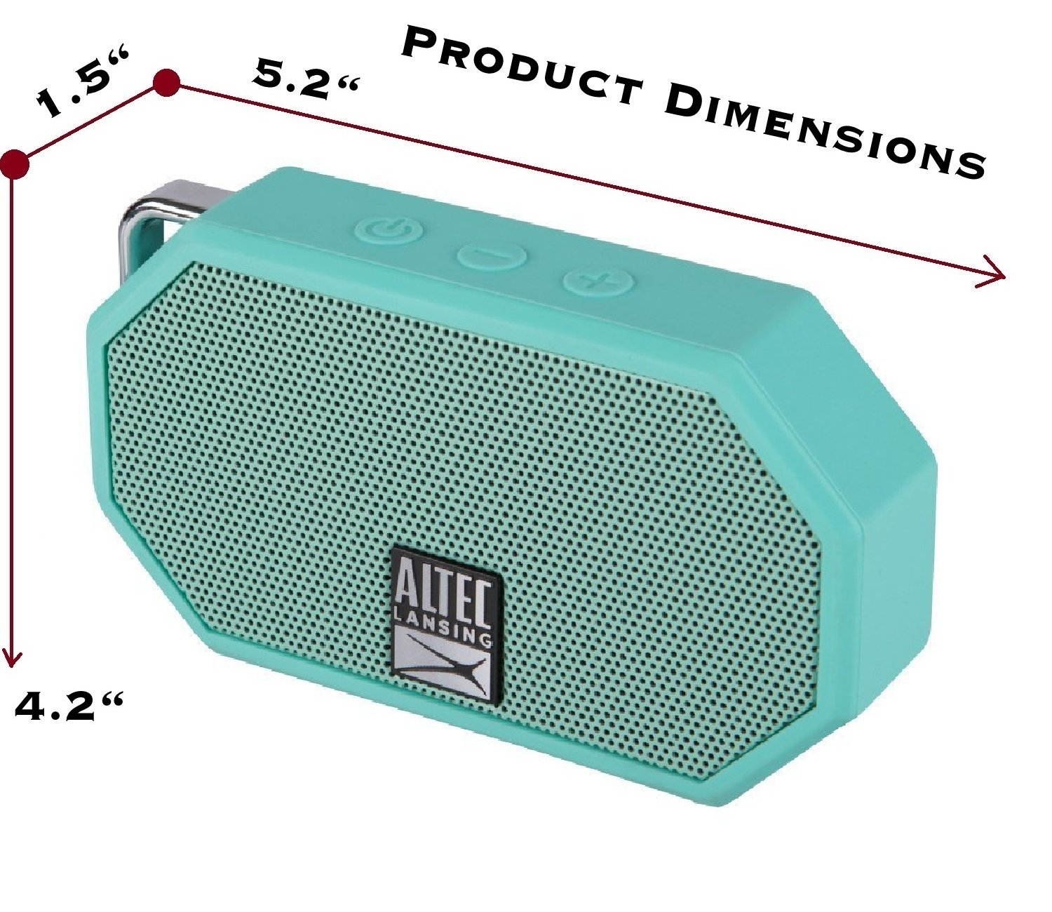 Altec Lansing Waterproof Hands Free Ultra Portable Image 3
