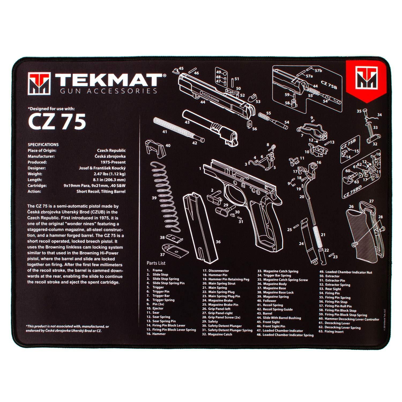 TekMat CZ 75 Ultra Premium Gun Cleaning Mat | 15