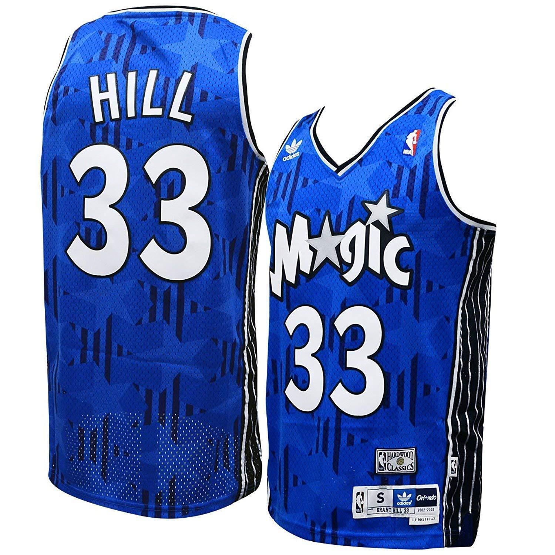 9643332aa19e Amazon.com  adidas Orlando Magic Grant Hill Soul Swingman Jersey  Clothing