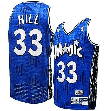 c87ba3824 Amazon.com  adidas Orlando Magic Grant Hill Soul Swingman Jersey ...