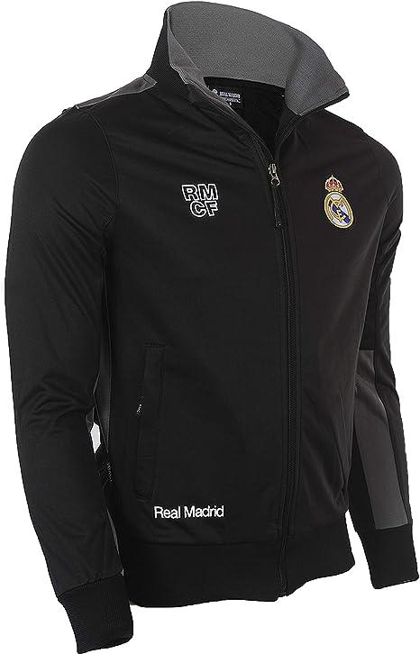 Real Madrid – Chándal Oficial – Talla de Adulto, Hombre, Negro ...