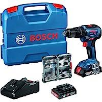 Bosch Professional 18V System Taladro percutor a batería GSB 18V-55 (par de torsión máximo 55…