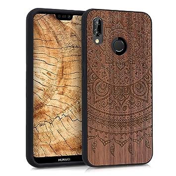 huawei p20 lite carcasa madera