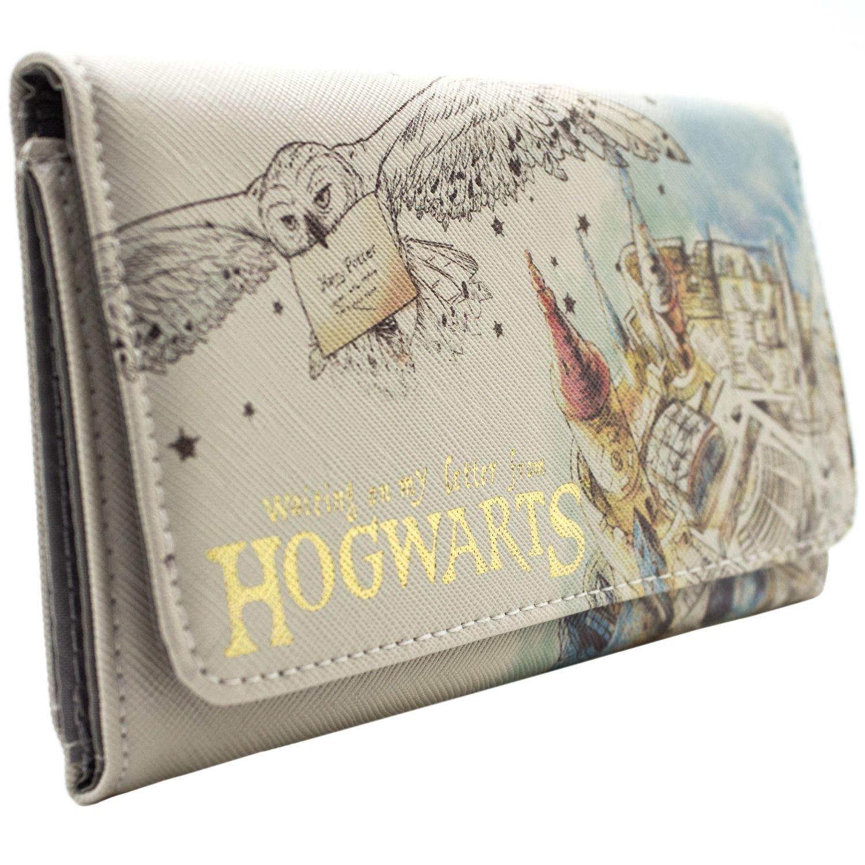 Cartera de Harry Potter Waiting On My Letter Hogwarts Blanco 31194