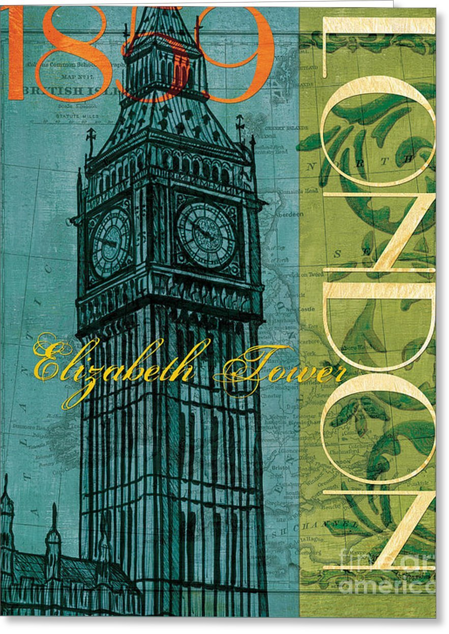 All Occasions Greeting Cards ''London 1859'' (25 pack) by Pixels (Image #1)