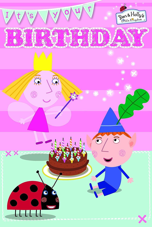 Ben & Holly s Little Kingdom tarjeta de felicitación de ...