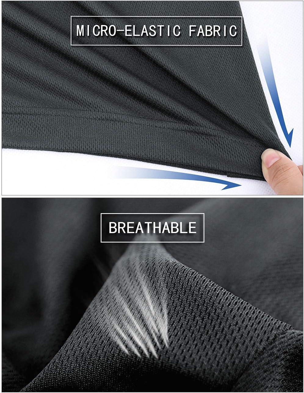 DISHANG Pantalones Cortos de B/ásquetbol de Rendimiento para Hombre Cortos de Gimnasio de Entrenamiento Liviano Atl/ético Activo con Bolsillos Laterales Dise/ño de Malla