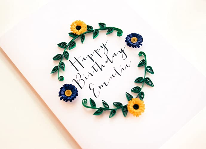 Amazon Personalized Birthday Card For Mom Sister Him Her