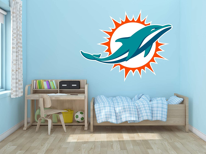 "Ottosdecal American Football Team Wall Decal Vinyl Sticker for Home Interior Decoration Bedroom, Laptop, Window, Mirror, Car (25"" x 20"")"