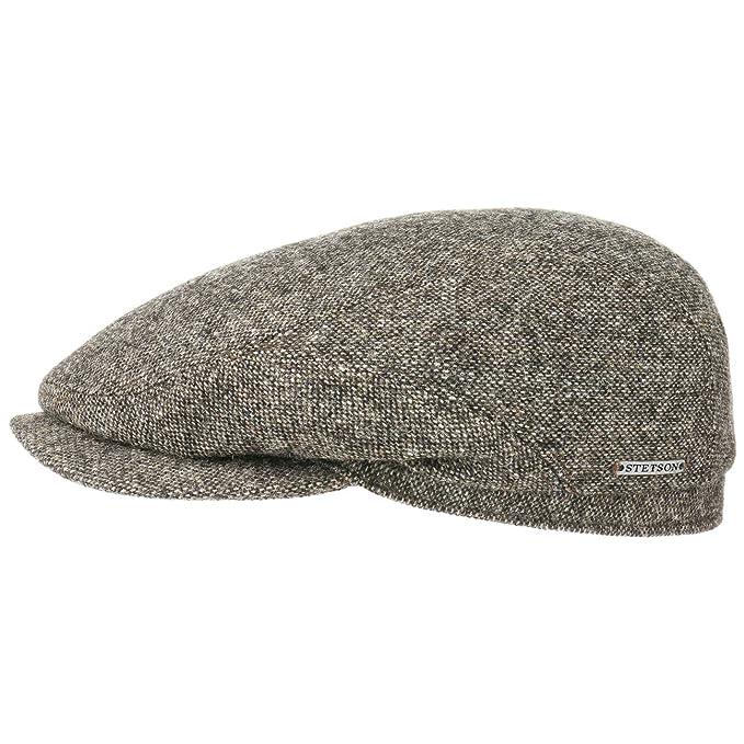 Belfast Woolrich Coppola Stetson cappello piatto berretti piatti 56 cm -  nero 03baf8e9f846