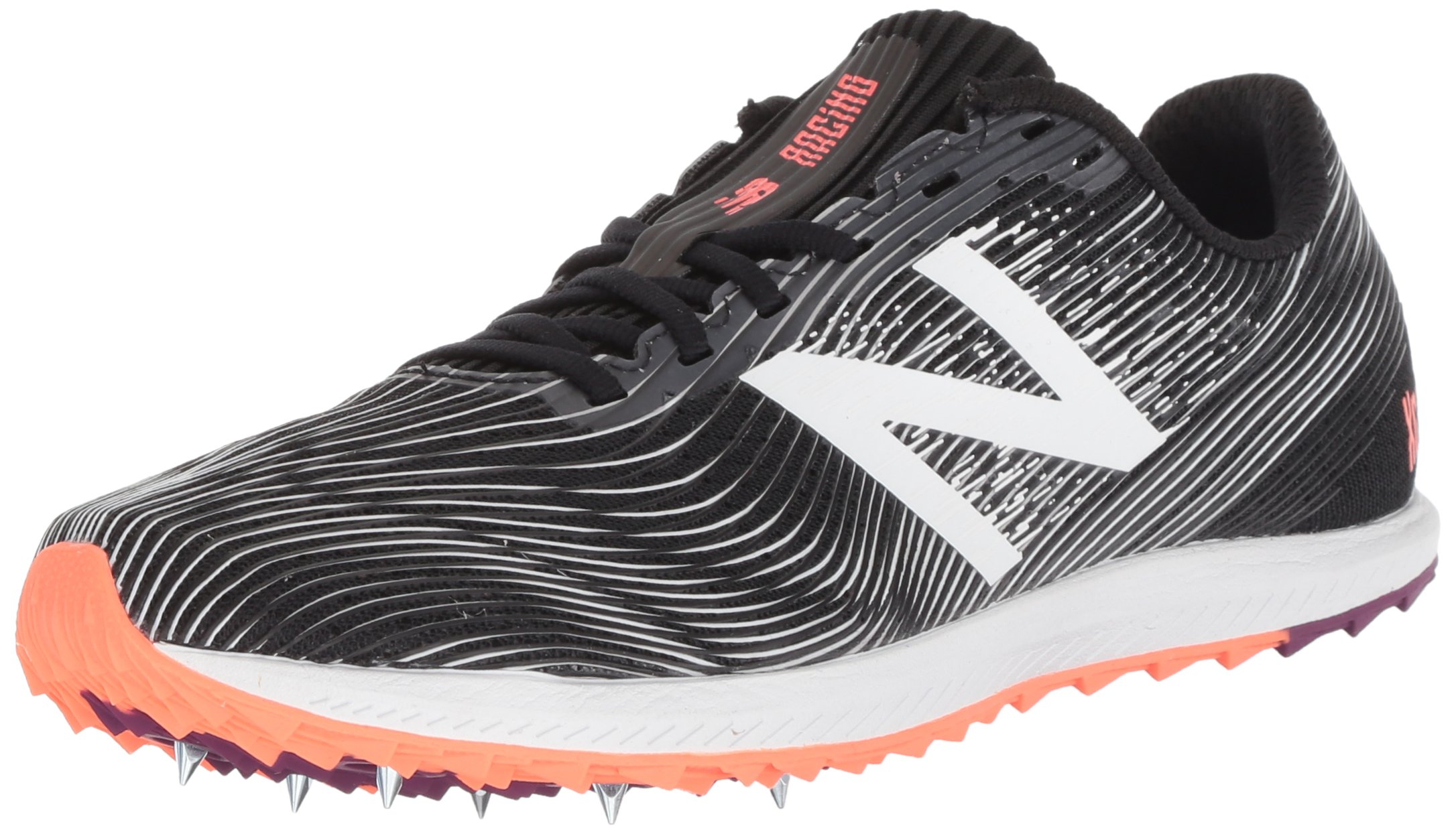 New Balance Women's 7v1 Cross Country Running Shoe Black, 5.5 B US by New Balance (Image #1)