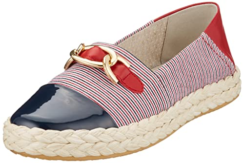 Geox D Modesty E, Zapatillas para Mujer, Rojo (Red/White), 40 EU