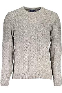 GANT Damen Strick Pullover Pulli gerade Passform Wolle
