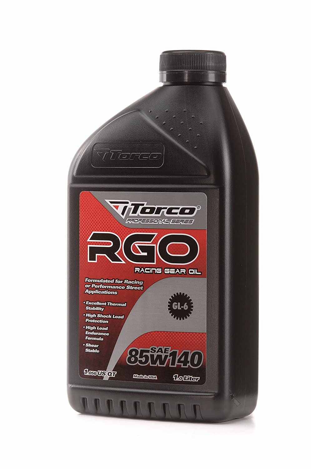 Amazon.com: Torco A248514C RGO 85w140 Racing Gear Oil Bottle - 1 Liter,  (Case of 12): Automotive