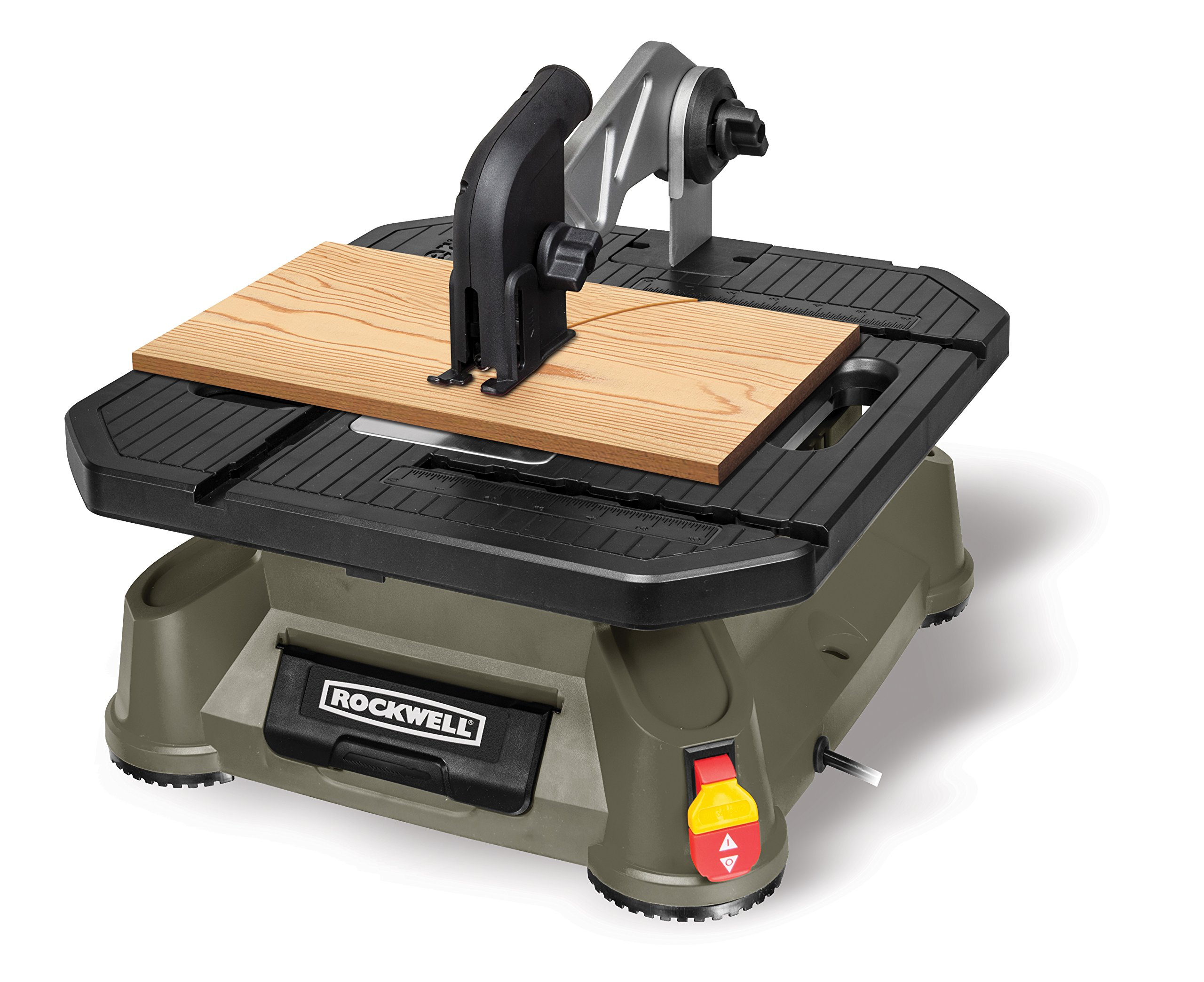 Rockwell BladeRunner X2 Portable Tabletop Saw with Steel Rip Fence, Miter Gauge, and 7 Accessories - RK7323 by Rockwell