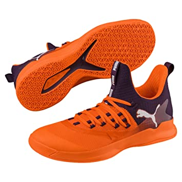 Indoor Xt 8 Teamsport Puma 2 Purple Orange Chaussure Rise White Fuse ZkXPuOi