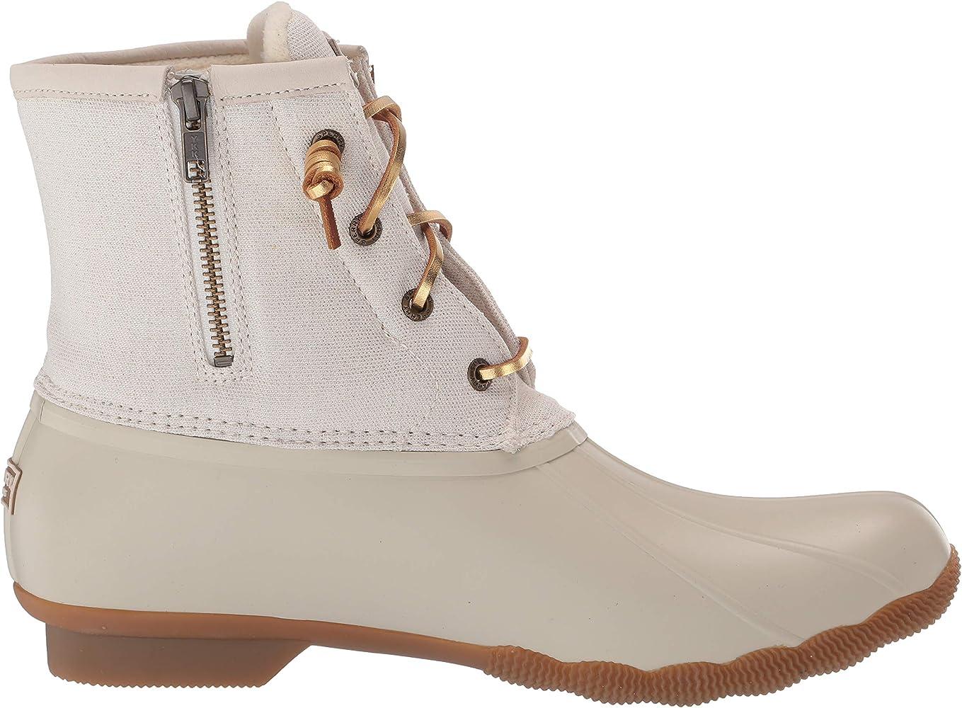 Saltwater Metallic Ivory Fashion Boot