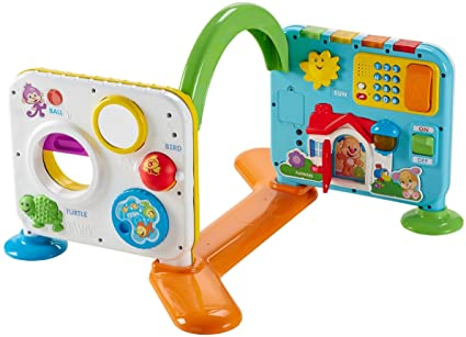 06871b263 Image Unavailable. Image not available for. Color  Fisher-Price Laugh   Learn  Crawl-Around Learning Center