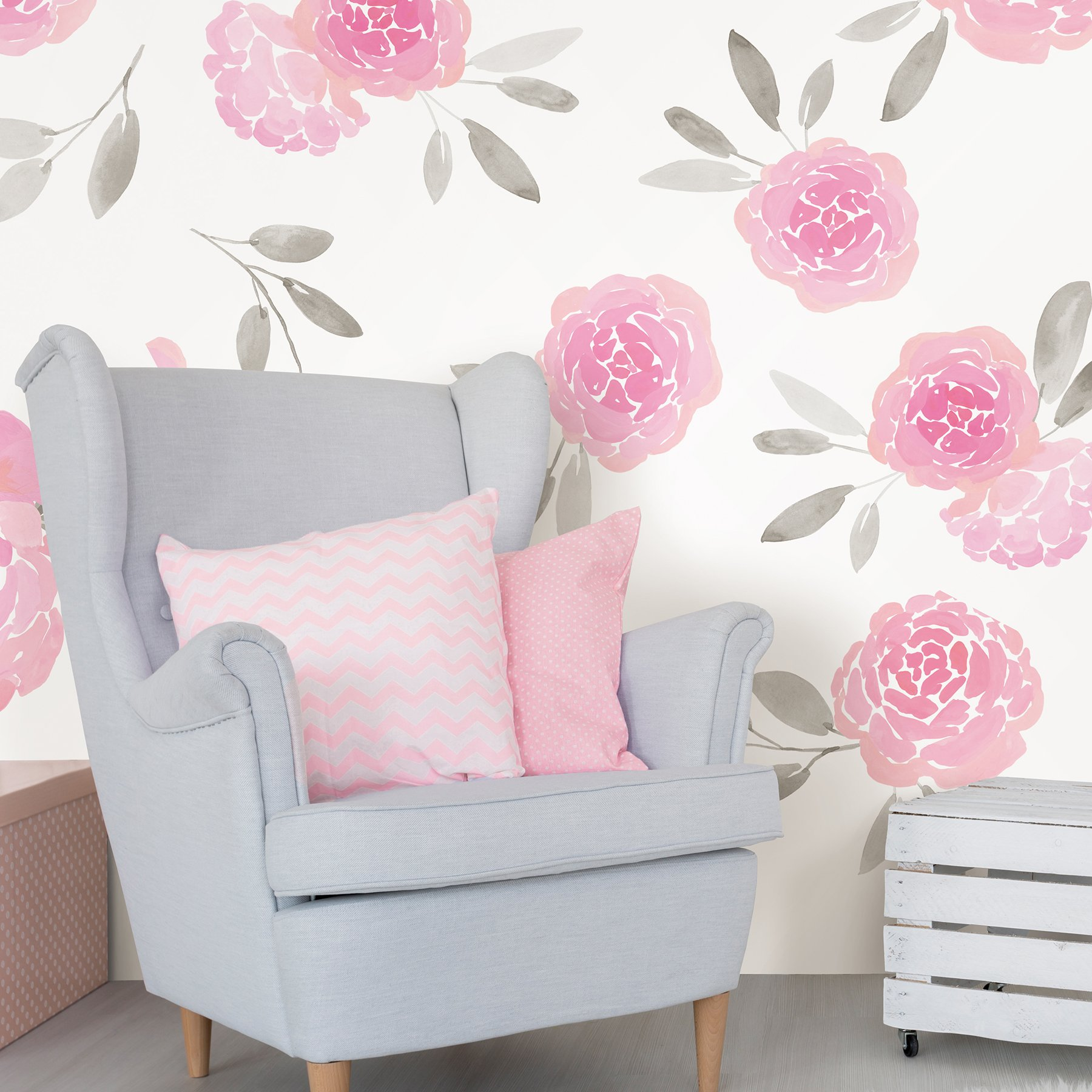 WallPops WPK2458 May Flowers Wall Art Kit Pink by Wall Pops (Image #2)