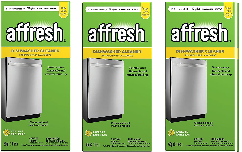 Affresh W10549850 AgkVuO - Limpiador de lavavajillas (3 Unidades, 2,1 oz): Amazon.es: Hogar