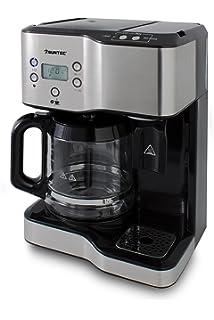 Suntec Wellness KTS-8397 Coffee+Tea Cafetera-Tetera, 3 W, Acero
