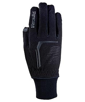 8b94e03f1f349c Roeckl Rosario Winter Fahrrad Handschuhe lang schwarz: Amazon.de ...