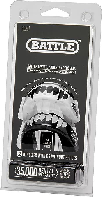 Battle Sports Fangs Football Mouthguard 2 Pack Battle Fang Football Mouthguards