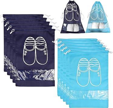 Bolsas para Zapatos,NEWSTYLE 10 Pack Bolsa Impermeable Telas no ...