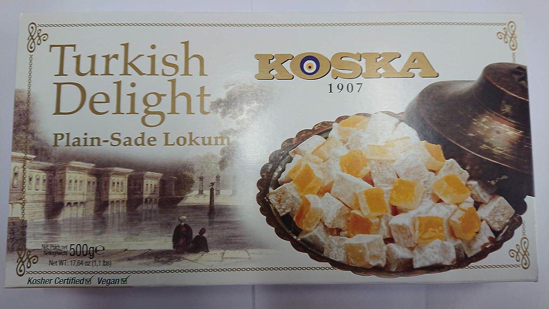 Delicias turcas llanura naturaleza 500g Turkish delight ...