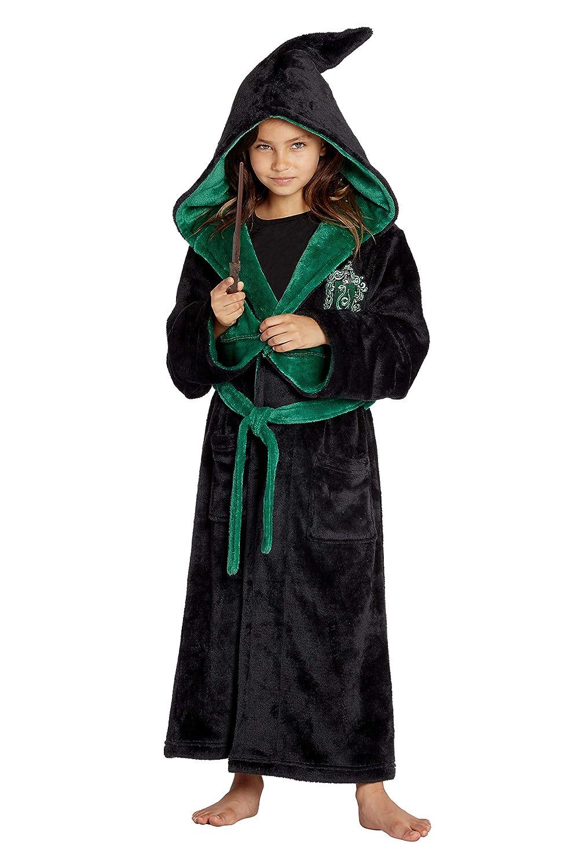 Amazon Com Intimo Harry Potter Costume Kids Plush Robe Hogwarts