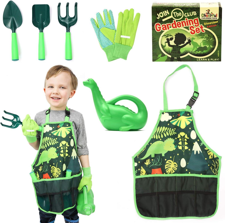 Kids Gardening Tool Set - Kids Gardening Set - Gardening Tools for Kids - Kids Gardening Tools - Kids Gardening - Kids Gardening Tools - Kids Garden Tools - Gardening for kids - Dinosaur Themed Kit