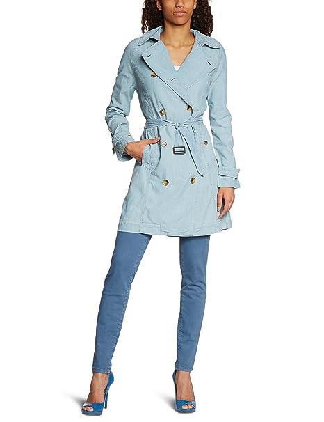 Levis Trench 70671 - Abrigo de manga larga para mujer, color 0 002, talla Medium: Amazon.es: Ropa y accesorios
